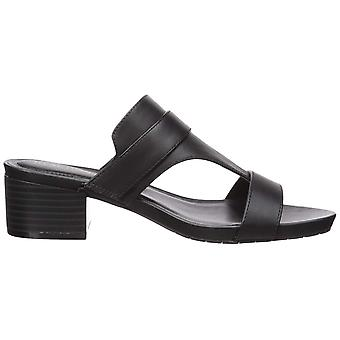 Kenneth Cole Reaction Womens Late Buckle Open Toe Casual Mule Sandals