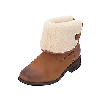 UGG W ALDON Women's Boots Beige Lace-Up Boots Winter