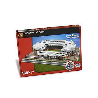 Man Utd Altes Trafford Stadion 3D Puzzle