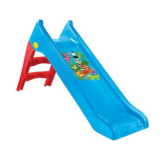 Mochtoys children's slide 11965, water slide, 140 cm slide length, weatherproof