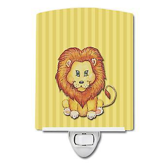 Carolines Treasures BB7146CNL Lion Keraaminen Yövalo