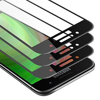 Cadorabo Tempered for Samsung Galaxy A3 2017 Fullcover Tempered 3 Pack