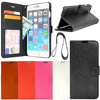 iPhone 6 PLUS/6S PLUS Genuine Leather wallet case ID/Photo pocket