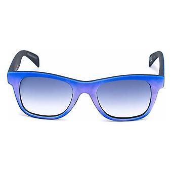 """יוניסקס משקפי שמש איטליה עצמאית 0090BSM-021-017 (46 מ""""מ) כחול (Ø 46 מ""""מ)"""