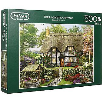 Falcon De Luxe Jigsaw Puzzle - Il Fioreista's Cottage, 500 Pezzo