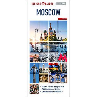 Insight Guides Flexi Map Moscow by Insight Guides - 9781789199345 Book