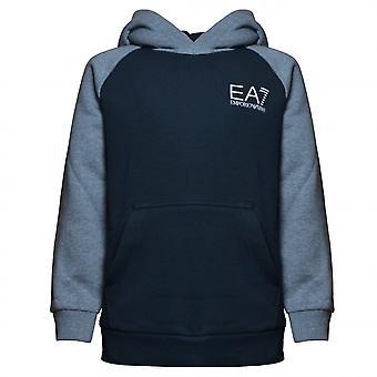 EA7 Boys Emporio Armani Boy's Night Blue Hoody