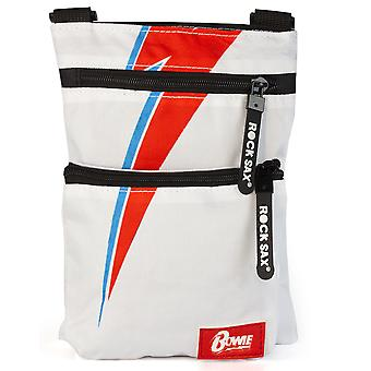 Rock Sax David Bowie Lightning White Body Bag