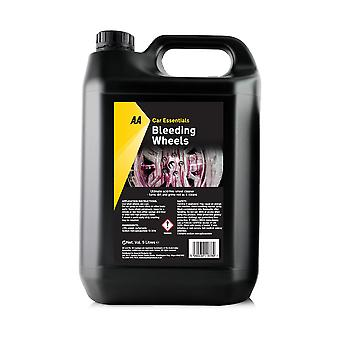 AA Car Essentials Bleeding Wheels 5 Ltr Non-Acidic Alloy Wheel Cleaner