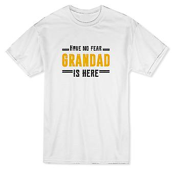 Have No Fear Grandad Is Here Men's T-shirt