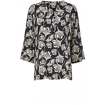 Masai Clothing Bell Floral Design Top