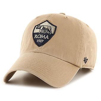 47 Brand Relaxed Fit Serie A Cap - CLEAN UP AS Roma khaki