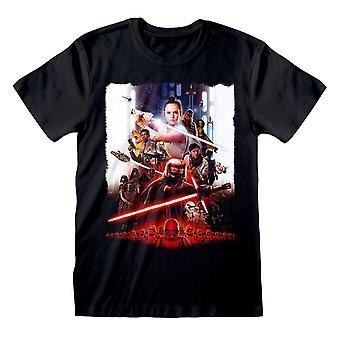 Star Wars Rise of Skywalker Movie Poster Miehet&s T-paita | Viralliset tuotteet