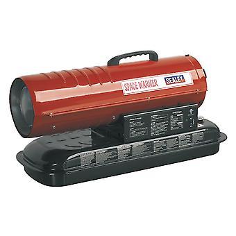 Sealey Ab458 espaço aquecedor parafina querosene & aquecedor Diesel 45Kbtu/Hr sem rodas