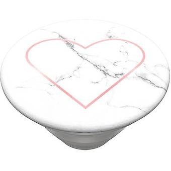 POPSOCKETS Stoney Heart Mobile phone stand Stone, Pink