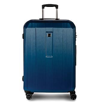Fabrizio Gateway Trolley M, 4 roues, 66 cm, 63 L, Bleu