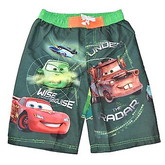 Cars Swimming shorts - Green 7/8 years