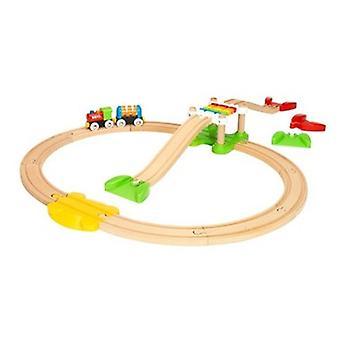 BRIO min første jernbane nybegynner Pack 33727 pjokk tre togsett