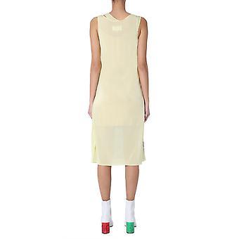 Maison Margiela S51cu0163s23591961 Women's Yellow Viscose Dress