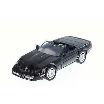 MotorMax Motormax - 1986 Corvette Zwart 1:24