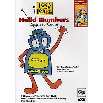 Hello Numbers-Learn to Count [DVD] USA import