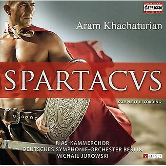 A. Khachaturian - Khachaturian: Spartacus [CD] USA import