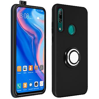 Cover for Huawei P Smart Z/Honor 9X Shockproof Ring Holder Video Support Black