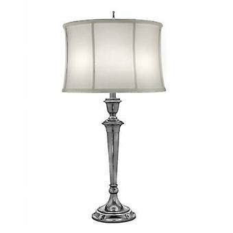 1 Lampe de table légère Antique Nickel, E27