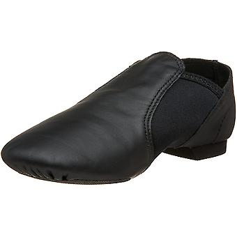 Kids Capezio Girls EJ2C Leather Low Top Pull On Dance Shoes