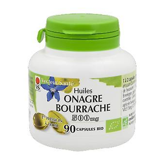 huile de bourrache + onager 500mg 90 capsules