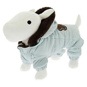Ferribiella Mantel Super Cold Cm.24 Hellblau (Hunde , Kleidung , Mäntel und Kappen)