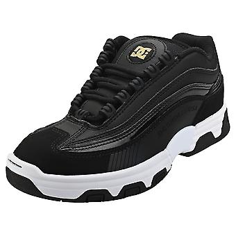 DC Shoes Legacy Lite Womens Skate Trainers in Black Gold