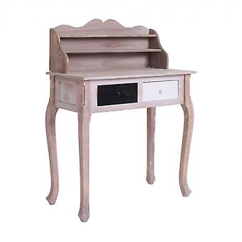 Rebecca Furniture Table Table Desk Brown Shabby 2 Lades 108x80x40