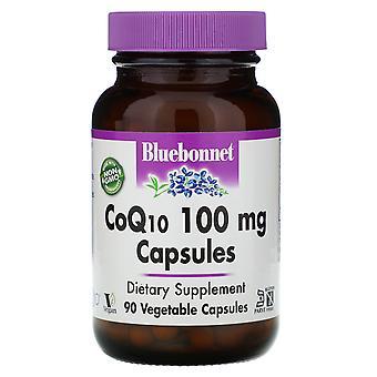 Bluebonnet Nutrition, CoQ10, 100 mg, 90 Veggie Caps