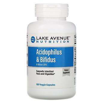 Lake Avenue Nutrition, Acidophilus & Bifidus, Probiotic Blend, 8 Billion CFU, 18