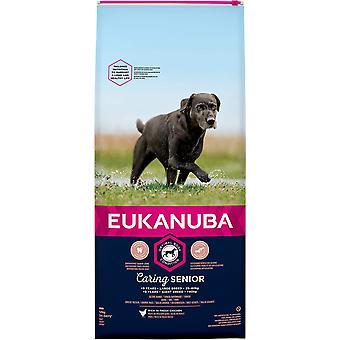 Eukanuba Pflege Senior Große Rasse Huhn - 12kg