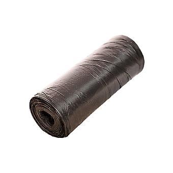 20pcs fortykket hjem disponibel søppelposer svart 45x43CM