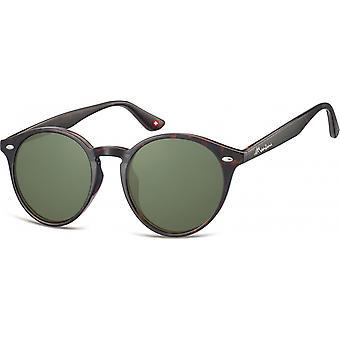 Sunglasses Unisex Panto Cat.3 Brown (S20C)