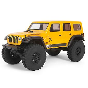 Axial SCX24 1/24 Jeep Wrangler JLU CRC RTR Keltainen RC Rock Crawler