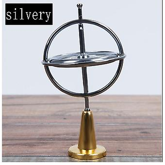 Creative Scientific Educational Metal Finger Gyroscope Classic Traditional Learning Toy For Kids