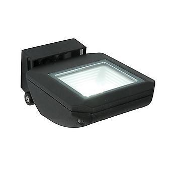 Saxby Zyra - LED integrado 1 Luz da Parede Ao Ar Livre Leve Texturado Preto, IP65 Claro