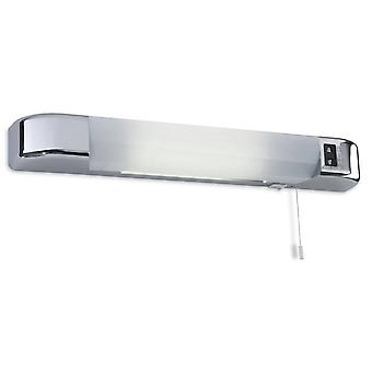 Ensimmäinen valo Dual - LED dual voltage switched parranajokoneen valo kromi