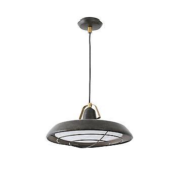 Faro Plec - LED 1 Lys Udendørs Dome Loft Vedhæng Lys Gamle Brown IP44