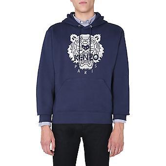 Kenzo Fa65sw3154xf76 Homme-apos;s Blue Cotton Sweatshirt