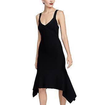 RACHEL Rachel Roy | Katherine Knit Strappy Sharkbite Midi Dress