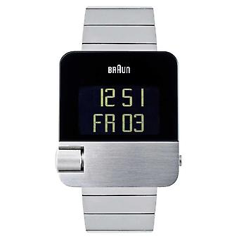 Braun Men's | Prestige | Digital | Stainless Steel Bracelet BN0106SLBTG Watch