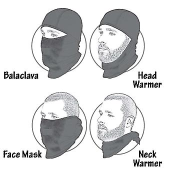 Pegasus 2 Pack Fleece Balaclava Thermal Warm Winter Snood Scarf Mask