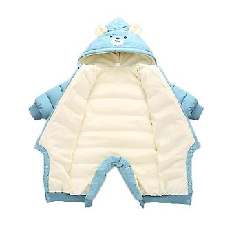 Baby Clothes Winter Hooded Rompers Thick Cotton Warm Outfit Snowsuit Children Boy Clothing
