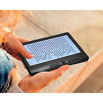 7 Inch,  800 X 480p Portable E-reader, Built-in 4gb Memory Storage And 2100mah
