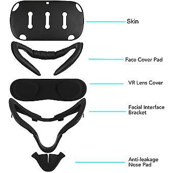 5in1 Face Cover Case Pad, Facial Interface Bracket, Lens Cover, Anti-leakage